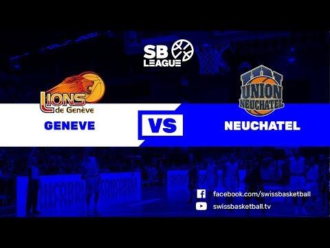 SB League - Day 3: Genève vs. Neuchâtel