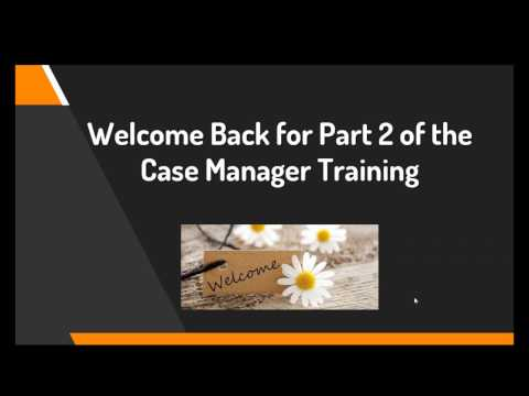 CM Training Going the Distance Part 2 - 11/2016