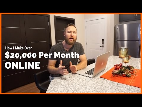 Exactly How I Make Over $20,000 Per Month Online (With Income Report)