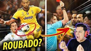 JUVENTUS foi ROUBADA contra o REAL MADRID?! POLÊMICA!!! 😡🔥