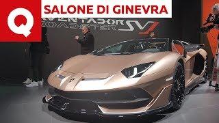 Lamborghini Aventador SVJ Roadster, capolavoro italiano a 12 cilindri - Salone di Ginevra 2019
