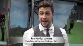 jon pardy big brother canada 2 backyard interview