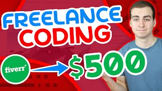 How I Made My First $500 From Freelance Coding - Using Fiverr screenshot 3