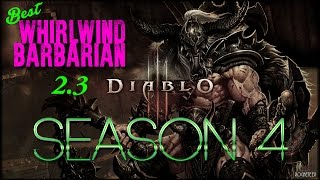 [DIABLO 3] 2.3 Whirlwind Barbarian – BEST BUILD & GEAR NA