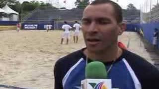 TV AZTECA DEPORTES EN SUDAMERICA-FUTBOL PLAYA ESTRELLAS