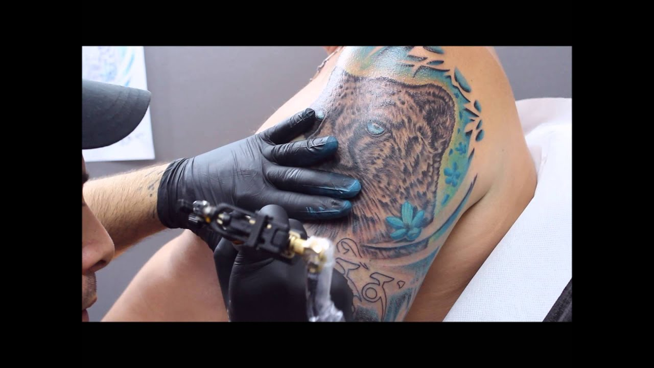 Tatouage Guépard  Cheetah Tattoo Youtube