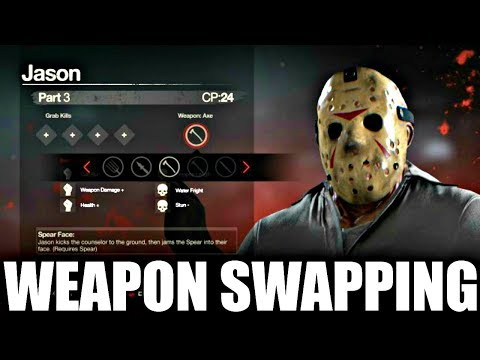 Weapon Swapping Trailer BREAKDOWN (Friday the 13th The Game)