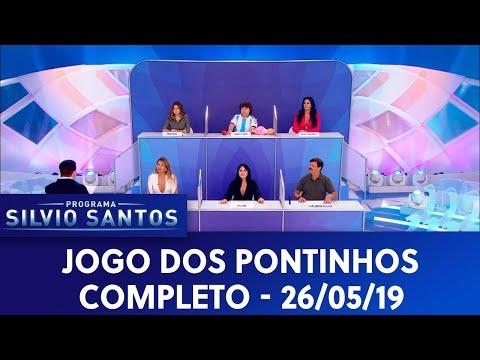 Jogo dos Pontinhos - Completo   Programa Silvio Santos (26/05/19)