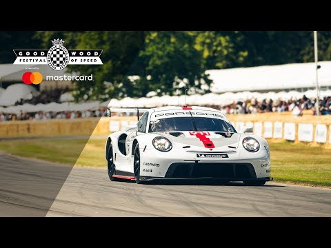 2019 Porsche 911 RSR GTE world debut at Goodwood Festival of Speed