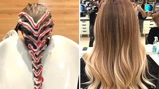 Это фантастика! Посмотрите как красят волосы в модных салонах Турции!