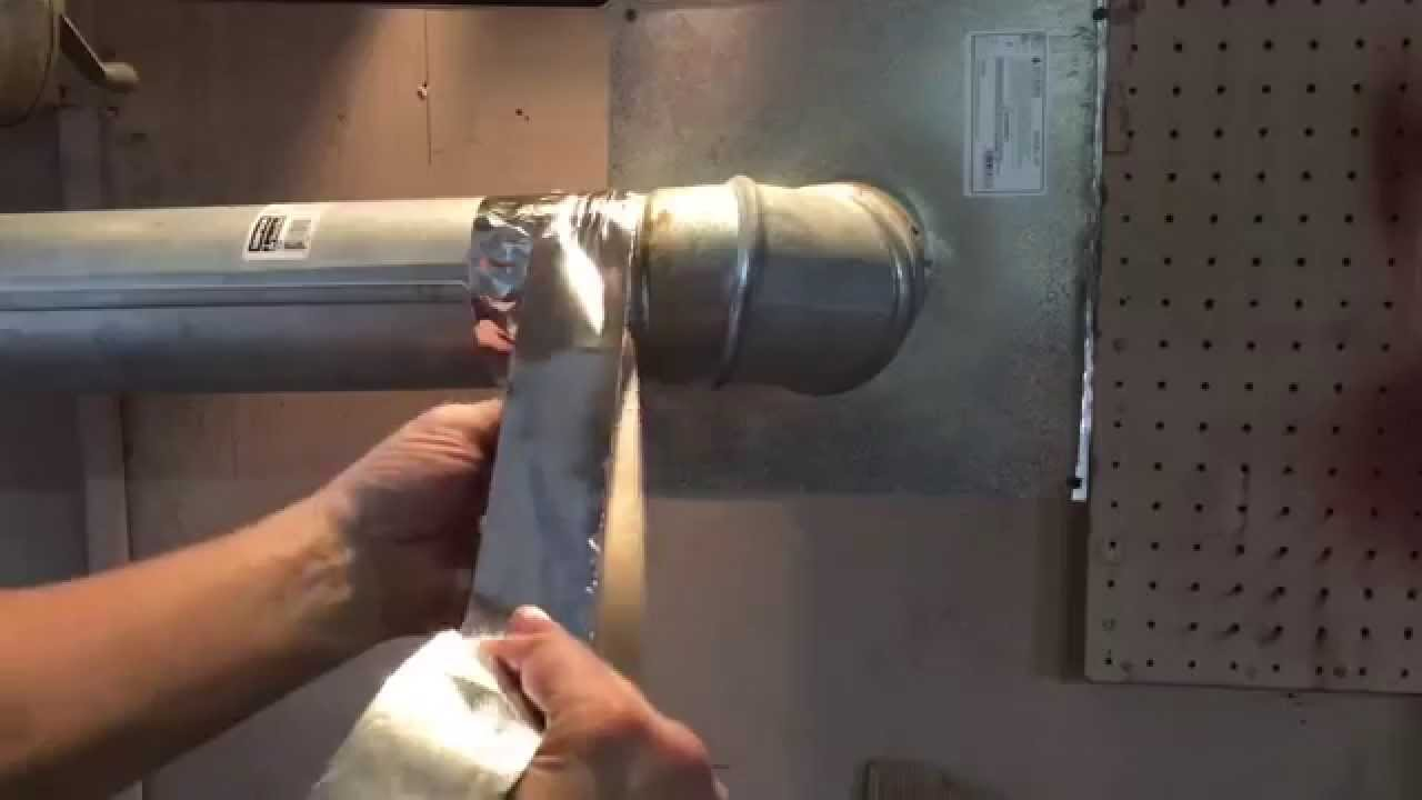 Pellet Stove Pipe Clean Maintenance - Safety - YouTube