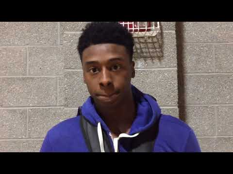 William & Mary basketball recruit Chase Audige discusses his 40-point outing in Donofrio Classic