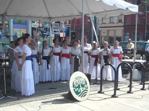 Choir from Croatia particpates in Chatfield College & Findlay Market Friendship Concert