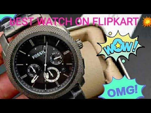 Unboxing FS4662 MACHINE Chronograph Watch