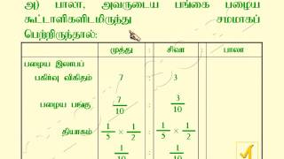 12th Class | Accountancy | Tamil Medium