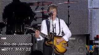 Paul  McCartney - PAPERBACK WRITER (LIVE)