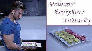 Recept - Malinové bezlepkové makronky