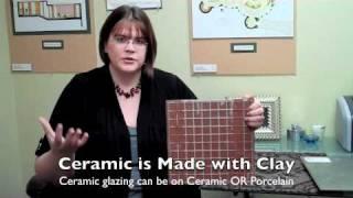 Ceramic vs Porcelain Basics - Better quality video