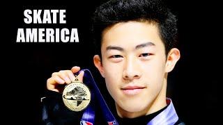 Фигурное катание Гран при США 2021 Скейт Америка Skate America Мужчины Произвольная программа