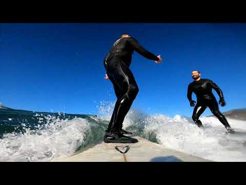 Surfing with GoPro HERO8 - A REAL ACTION TEST of a REAL ACTION CAMERA | Edit with GoPro Mobile app