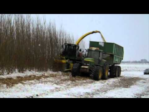 Henriksson willow harvester