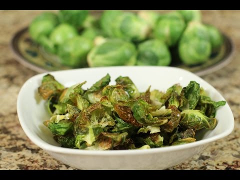Brussel Sprout Chips - Clean Healthy Delicious Snack!