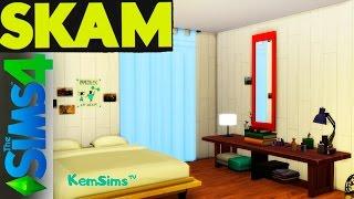 SKAM - Строим в The Sims 4 комнату Нуры из сериала Стыд