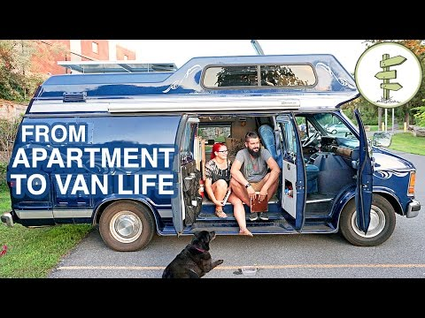 Van Life - Couple Moves From Apartment to Camper Van Full Time