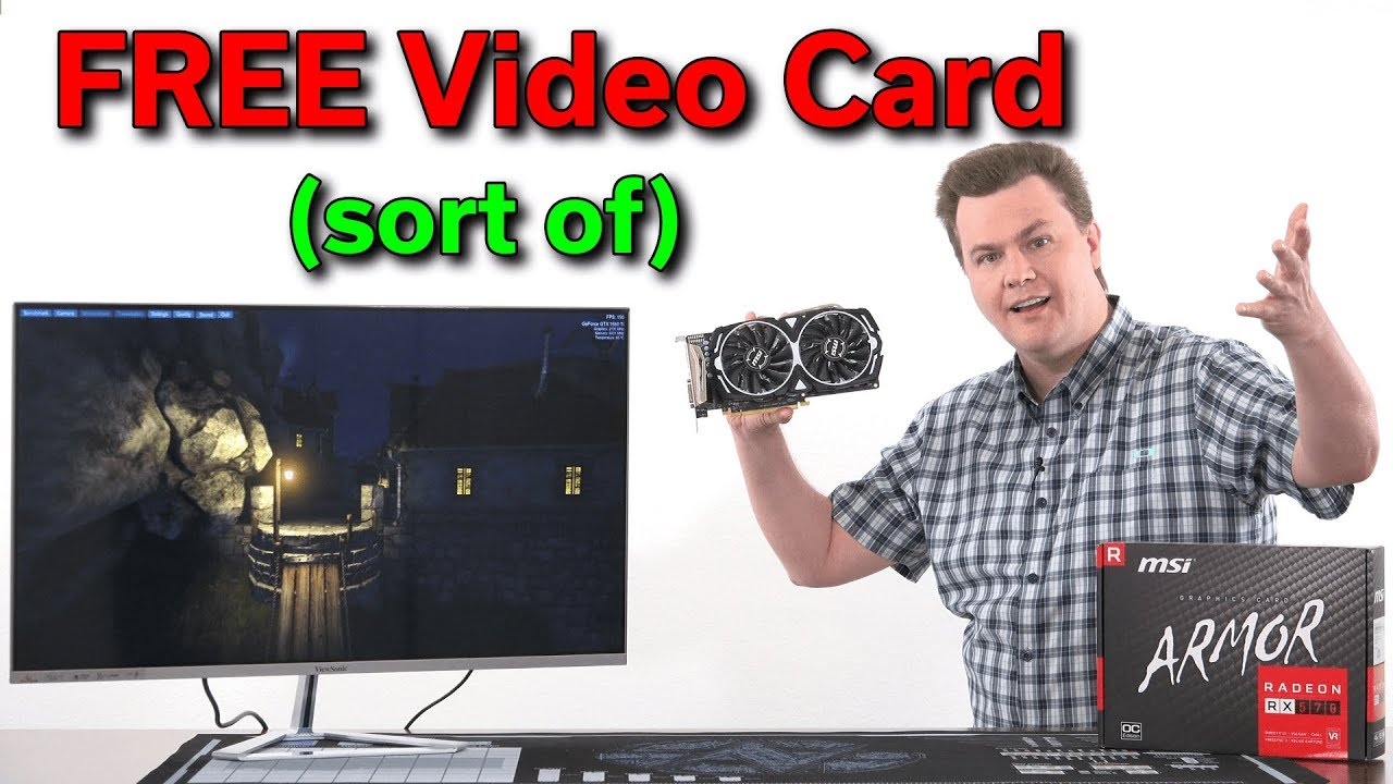 Free Video Card — MSI RX 570 4GB Armor OC — World War Z + The Division 2  Gold — Deal Alert