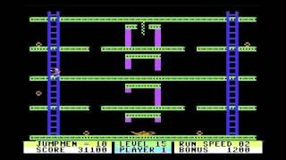 Jumpman (C64) - Longplay
