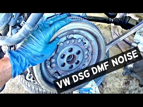 VW JETTA TDI DMF NOISE | TDI BAD DUAL MASS FLYWHEEL DMF DSG