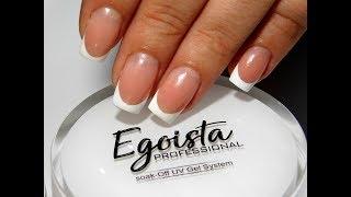 Френч гелем Egoista Professional  ТОП Красивый дизайн ногтей. Новинки от мастера маникюра nail 2017