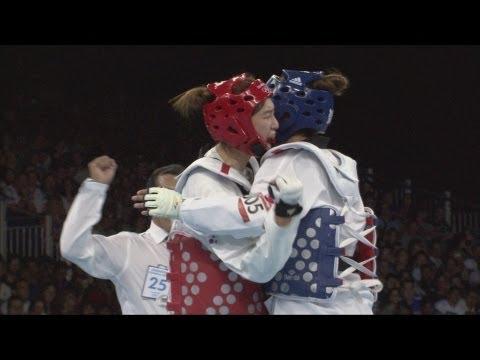 Hwang Kyung Seon (KOR) Wins Taekwondo -67kg Gold - London 2012 Olympics