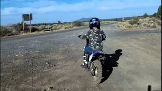Dirt Bike Riding in Modoc County Oct. 2012