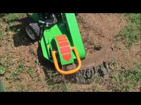 Видео измельчитель пней LASKI F360SW-CH440T