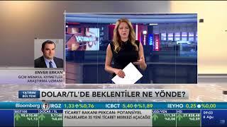 06.08.2018 - BHT - Yatırım Bülteni - GCM Forex Araştırma Uzmanı Enver ERKAN #Enflasyon