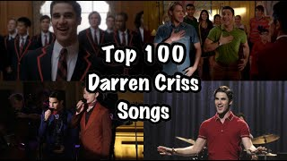 Glee~ Top 100 Darren Criss (Blaine) Songs
