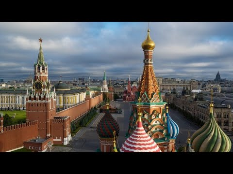 Moscow Streets As Russia Battles COVID-19 [STREAMED LIVE]