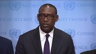 Abdoulaye Diop (Mali) on the situation in Mali - Security Council Media Stakeout (16 June 2017)