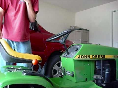 The John Deere 111 is FINISHED! - YouTube Jd Wiring Diagram on jd lt155 wiring-diagram, jd lx188 wiring-diagram, jd 265 lawn tractor diagram,