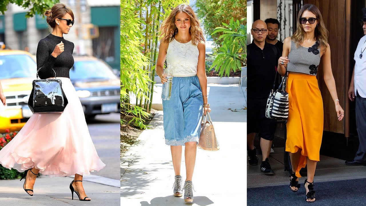Jessica Alba 39 S Best Street Style Moments Youtube