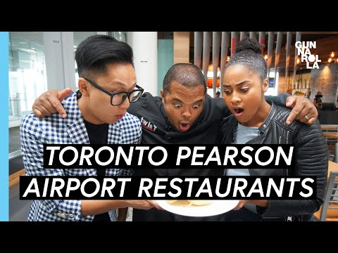 Toronto Travel Guide: Toronto Pearson International Airport Best Restaurants