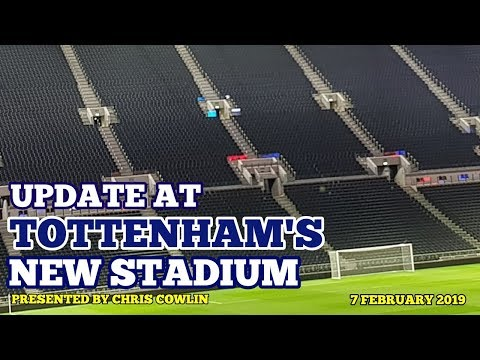 UPDATE AT TOTTENHAM'S NEW STADIUM: Club Statement - Arsenal Game Moved to Wembley Stadium: 07/02/19