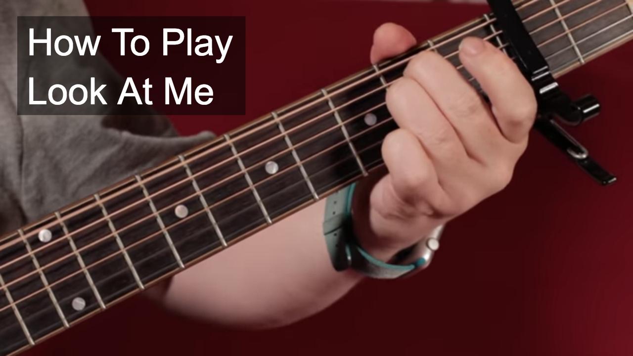 Look at me john lennon guitar lesson youtube look at me john lennon guitar lesson hexwebz Images