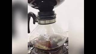 Siphon coffee brewing with Cona (Vintage)