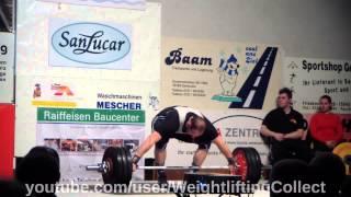 KSV Durlach gegen Chemnitzer AC Bundesliga Gewichtheben 2014 03 08
