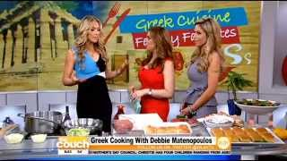 Greek Cooking With Debbie Matenopoulos