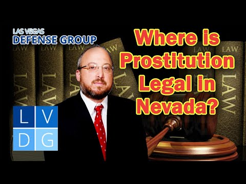 """Where is """"prostitution"""" legal in Nevada?"""