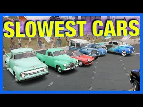 Forza Horizon 3 Online : Slowest Cars!! thumbnail