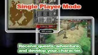 Dungeon Explorer DS trailer
